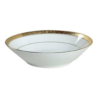 Noritake Signature Gold Soup Bowls - A Pair