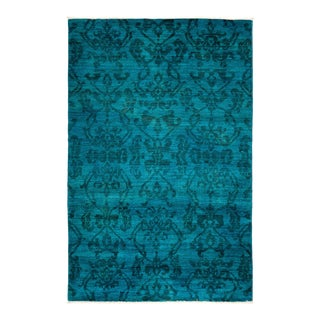 "Vibrance Collection Hand Knotted Area Rug - 3' 9"" X 6' 0"""