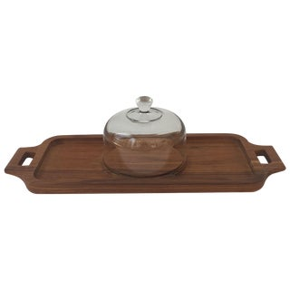 Vintage Domed Cheese Tray