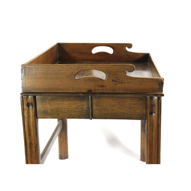Image of 1880s Folding Butler Tray
