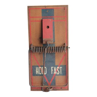 Giant Folk Art Mouse Trap