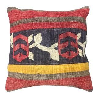 Vintage Turkish Kilim Handmade Pillow