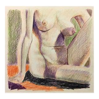 Colored Pencil Nude Study