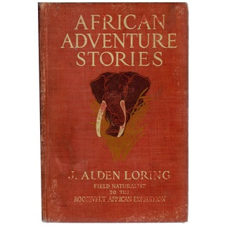 African Adventure Stories Hardcover Book