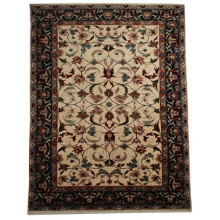 "Hand Knotted Wool Persian Gharajeh Rug - 12'10"" X 18'"