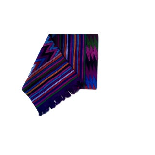 Chiapas Purple Bed Runner or Tabletop Decor