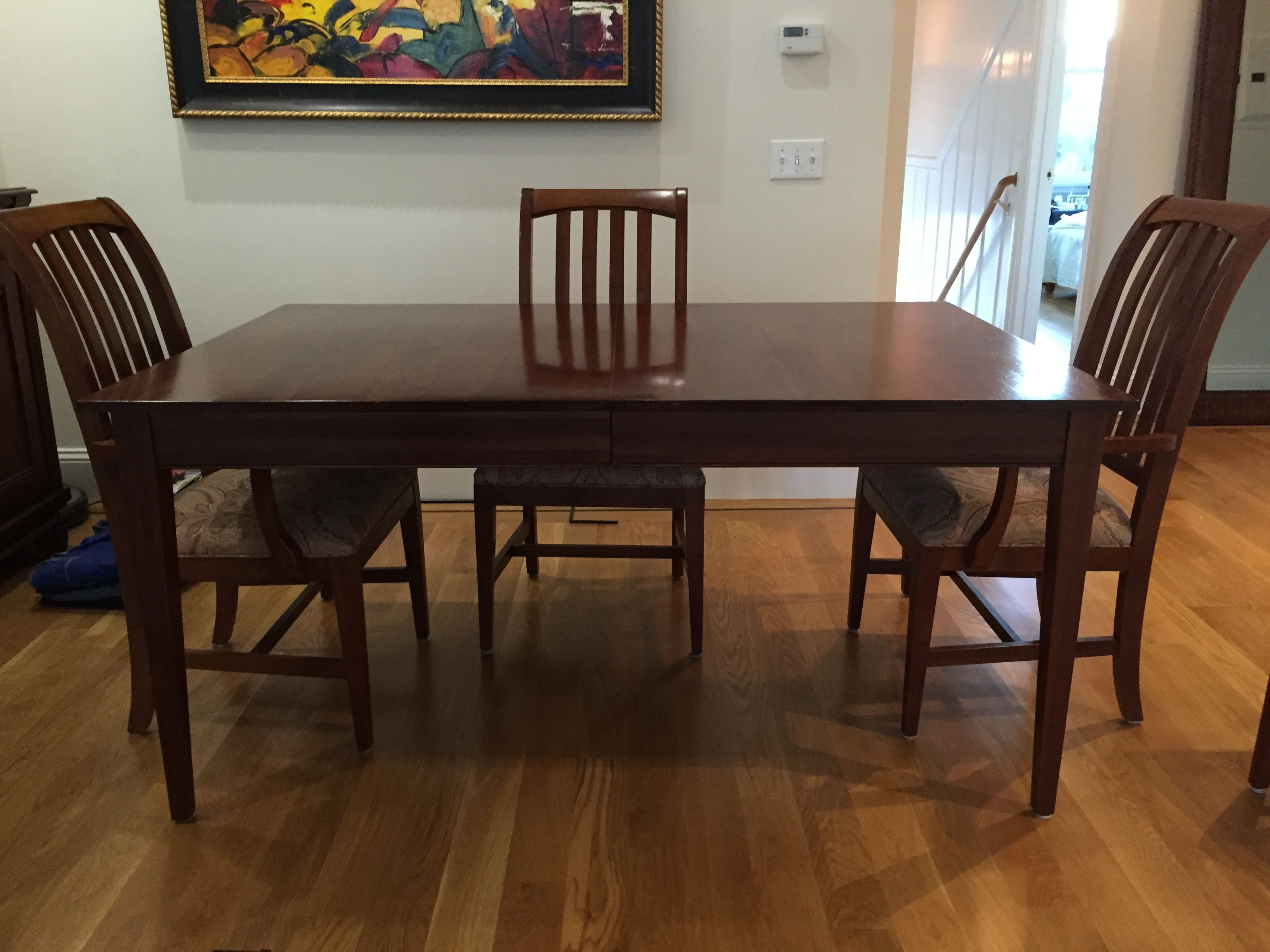 Ethan Allen Dining Room Set Table amp 6 Chairs Chairish : 89d0758b caa9 49bf a4e8 65e2c3234121aspectfitampwidth640ampheight640 from www.chairish.com size 640 x 640 jpeg 42kB