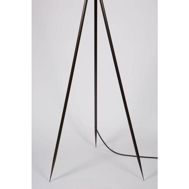 Monumental Bronze Floor Lamps - Image 6 of 6