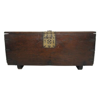 Chinese Blanket Chest