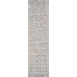 "Pasargad Transitiona Vsilk & Wool Rug - 2' 6"" X 8'"