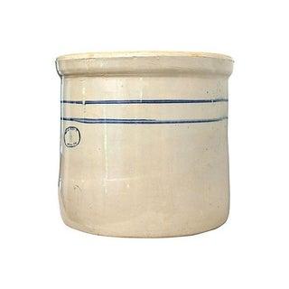 Marshall Studios Glazed Pottery Crock Planter