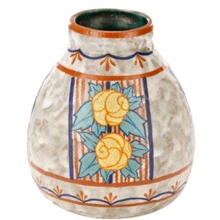 French Art Deco Vase by Louis Dage
