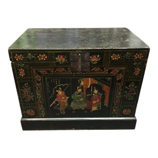 Hand Painted Chinese Trunk