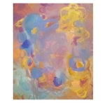 Image of Contemporary Print of Abstract Painting Daydreams