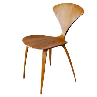 Plycraft Sculptural Dining Chairs by Norman Chernerral