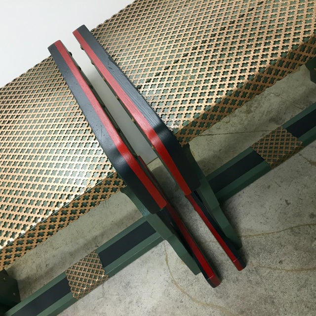 Gucci Inspired Side Tables - A Pair - Image 10 of 11