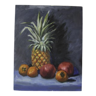 Still Life Tropical Fruit Oil Painting