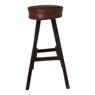 Vintage Brown Cobbler's Stool