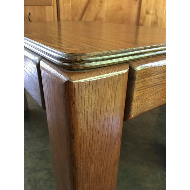 Mid-Century Parsons Style Side Tables - A Pair - Image 6 of 8