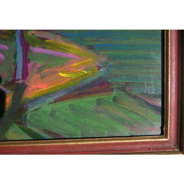 Guzman California Modernist Painting - Image 3 of 4