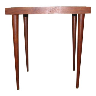 Martz Style Ceramic Top Side Table