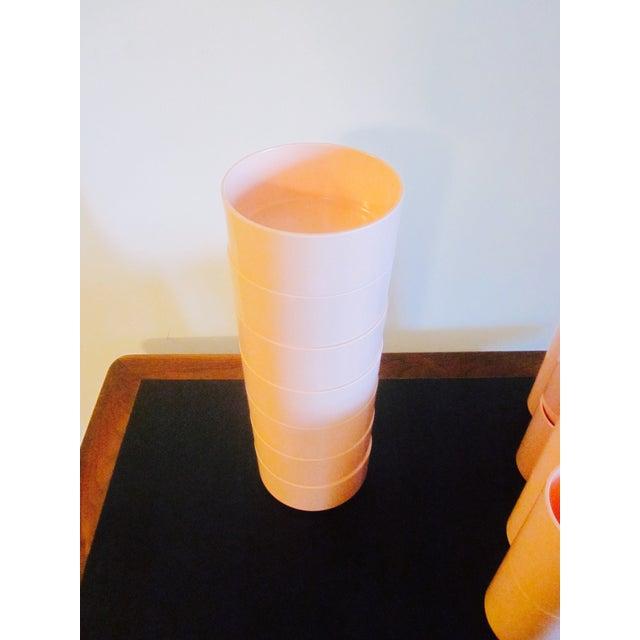 Image of Heller and Vignelli Mod Pink Dinnerware Set