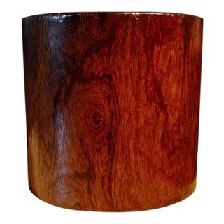 Large Late Ming Huanghuali Brush Pot