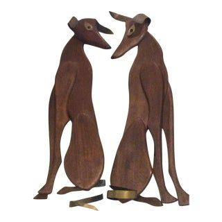 Wall Hangings of A Dog - A Pair