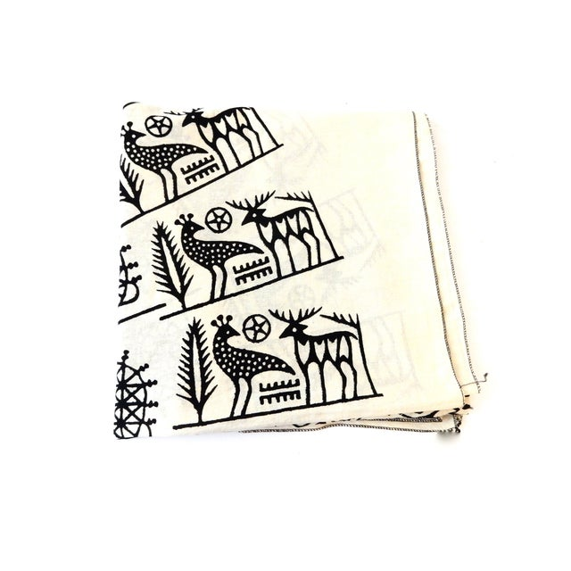 Image of Turkish Cloth Tokat Yazma Throw or Tablecloth