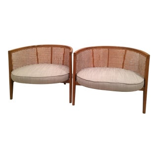 Harvey Probber Model 1066 Hoop Chairs - A Pair