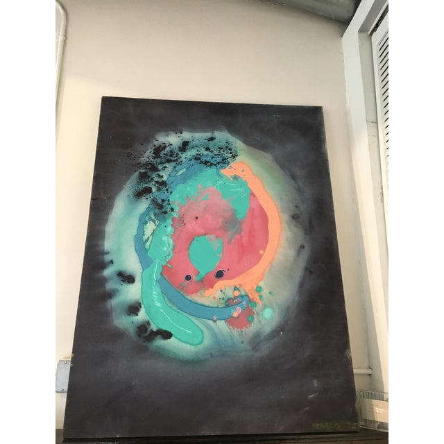 1972 Orlu Abstract Painting - Image 7 of 7