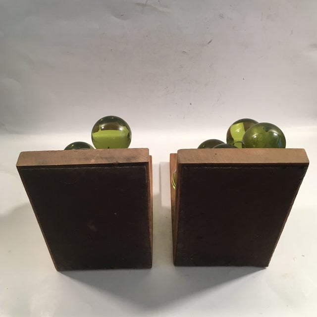 Vintage Lucite Grape Bookends - A Pair - Image 5 of 5