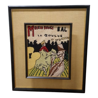Moulin Rouge Needlepoint Art