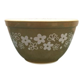 Pyrex Green Spring Blossom Crazy Daisy 1.5 Pint Mixing Bowl