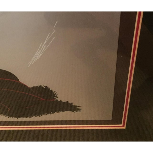"Erte Romaine De Tirtoff ""Soiree"" Serigraph - Image 3 of 4"
