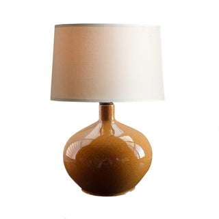 Vintage Sand Glazed Ceramic Table Lamp