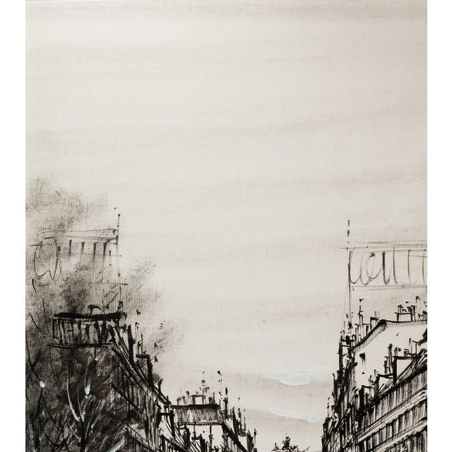 Champs-Elysées and the Arc De Triomphe, Grisaille - Image 2 of 6