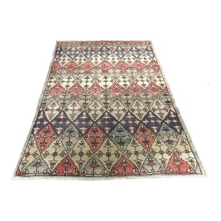"Bellwether Rugs Vintage Turkish Zeki Muren Rug - 4'6""x6'10"""