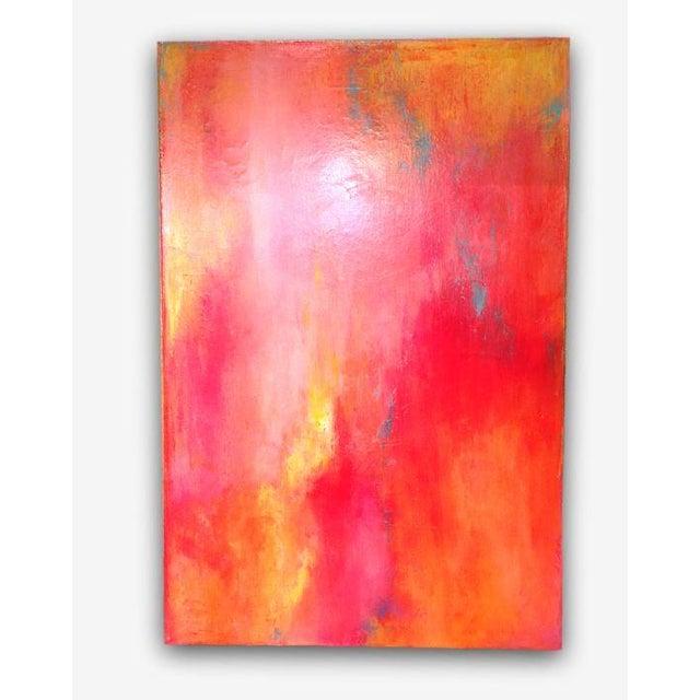 "Image of Jo Mattison ""Cosmic Morning"" Acrylic Painting"