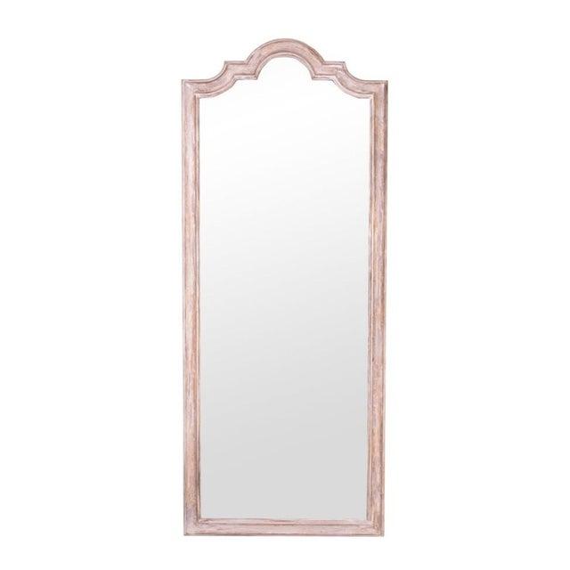 White wash full length mirror chairish for White full length mirror
