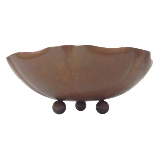 Walter Jennings Hammered Copper Bowl