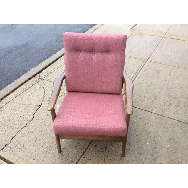 Image of 1960s Danish Modern Rocking Lounge Chair