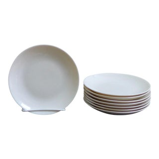 Eva Zeisel White Bread & Butter Plates - Set of 8