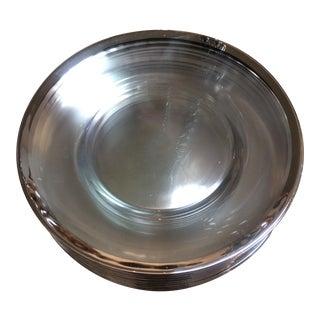 Dorothy Thorpe Mid-Century Dinner Plates - Set of 12