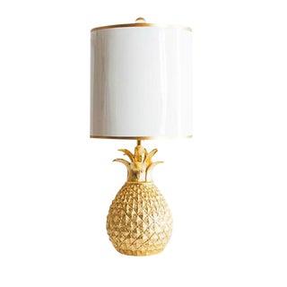 Golden Pineapple Table Lamp