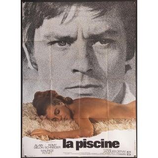 "French 1969 ""La Piscine"" Film Poster"