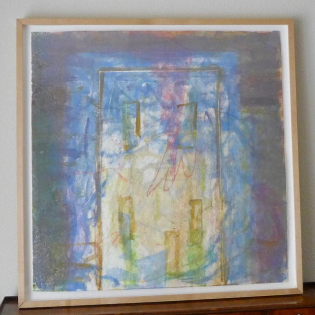 1998 Christopher Le Brun Untitled Abstract Monotype - Image 7 of 7