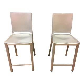 Philippe Starck Hudson Counter Stools by Emeco - Pair
