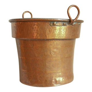 Antique Hammered Copper Tub