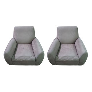 Ke-Zu club chairs by Dakota Jackson - A Pair